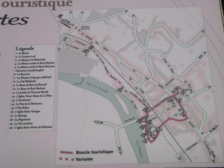 visiter Descartes Touraine