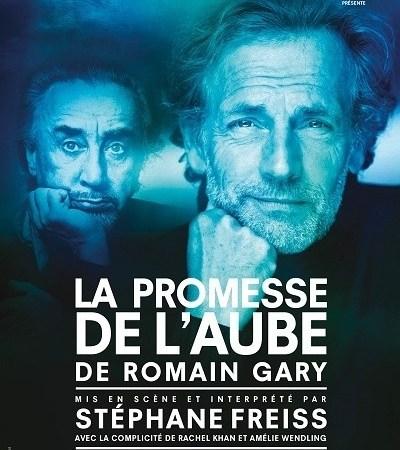 La Promesse de l'aube Romain Gary Stéphane Freiss Théâtre de Poche
