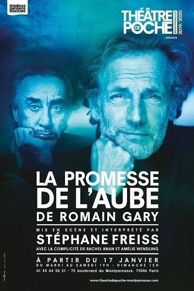 La Promesse de l'aube Romain Gary  Stéphane Freiss Théâtre de Poche montparnasse