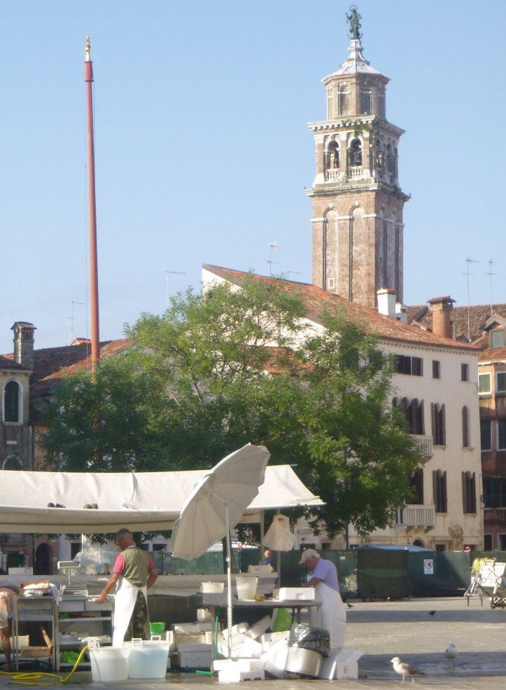 Que voir à Venise Dorsoduro marché