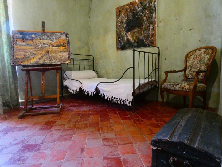 van gogh saint remy chambre
