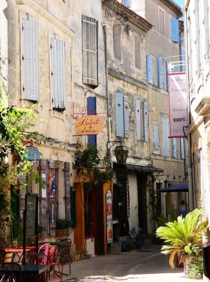 rue Visiter Saint Rémy de Provence