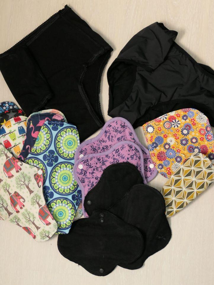 zéro déchet hygiène féminine serviette hygiénique lavable