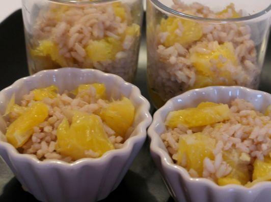 riz au lait suédois à l'orange amande