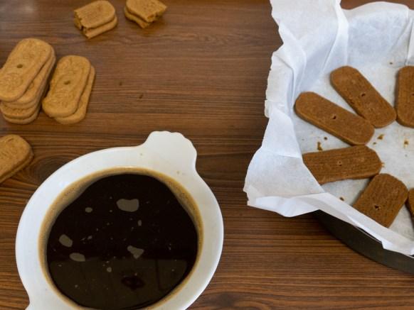 recette de gâteau chocolat speculoos café
