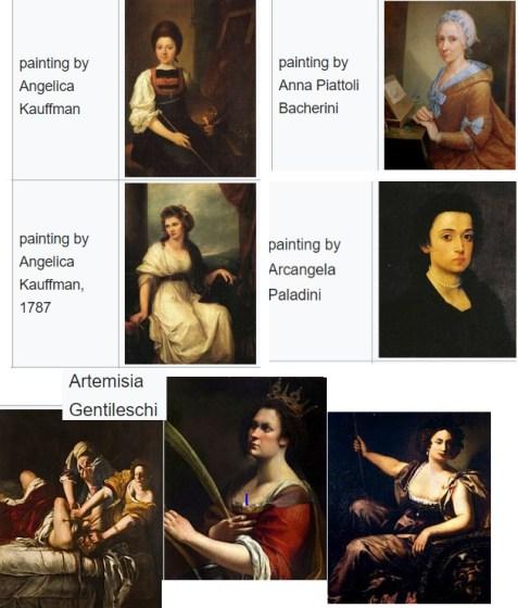 Visiter Florence peintre femmes