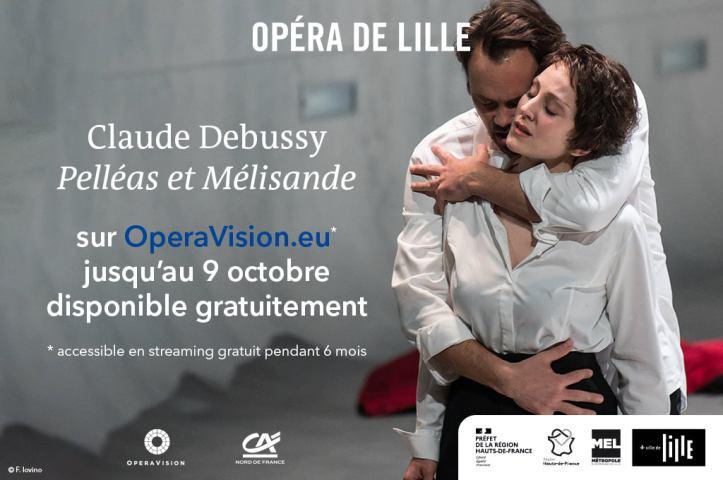 Pelléas et Mélisande Opéra de Lille
