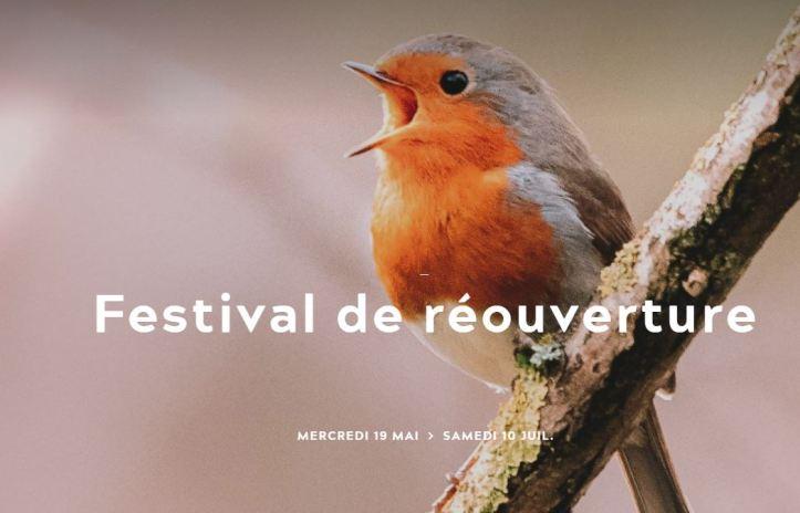 Concert de réouverture opéra de Tours Promenade dans les bois