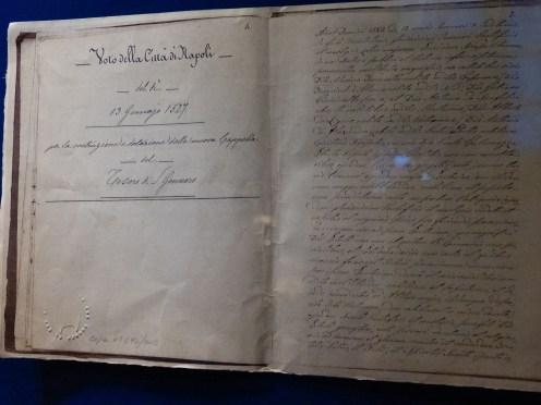 Exposition les trésors de Naples à Loches à la Chancellerie