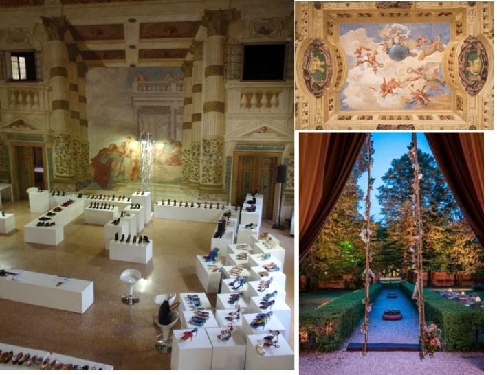 visiter les villas de la Brenta  foscarini chaussures