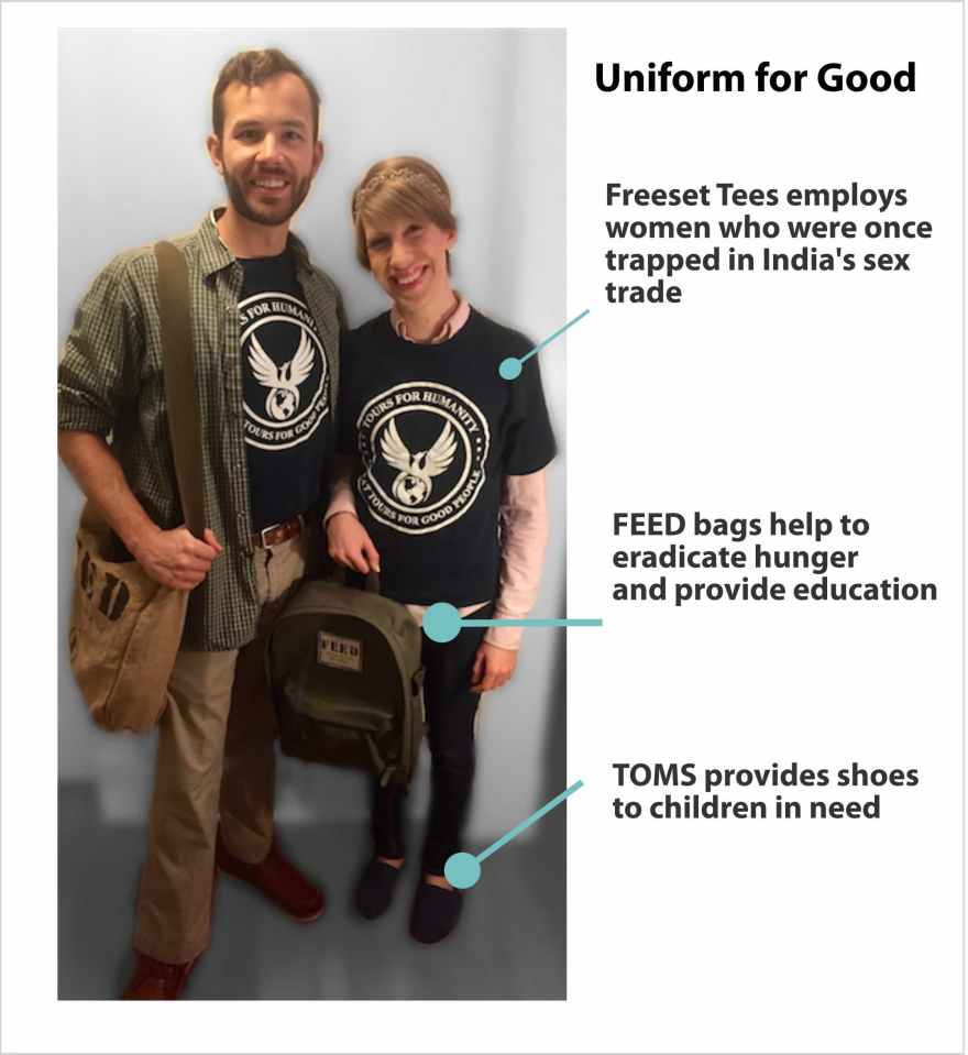 Uniform Supplied By Social Good Companies