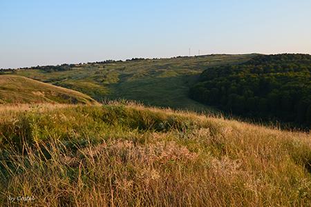 Romanian rural village magura hill by Florin Chelaru