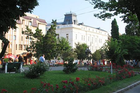 Targu Mures City Center by Mircea Sarbu
