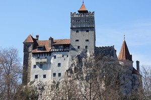 Off road to Bran Castle