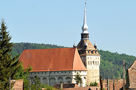Saschiz Fortified Church Tours in Brasov