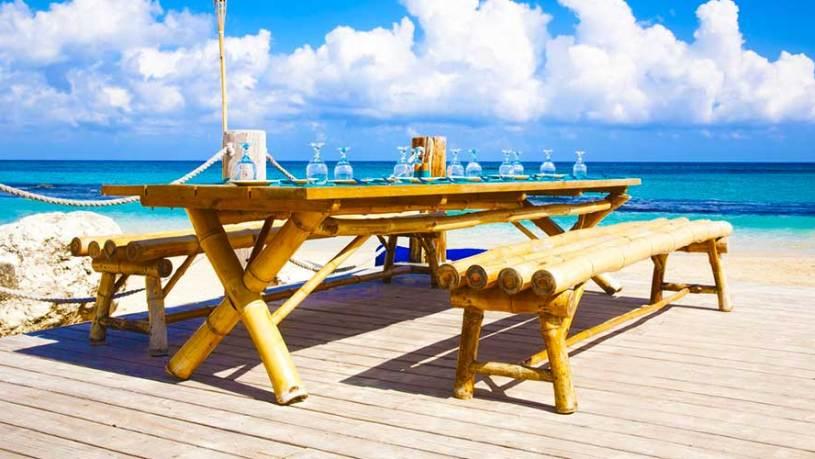 Bamboo Blu Beach