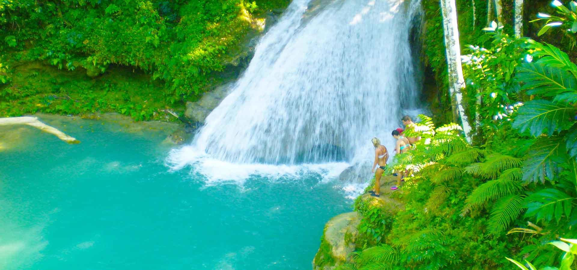 blue holes and secret falls, Ocho Rios