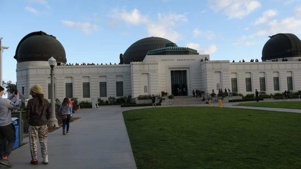 Griffith Observatory in Hollywood is a Los Angeles sightseeing tour