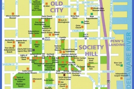 philadelphia tourist map » Full HD MAPS Locations - Another World ...