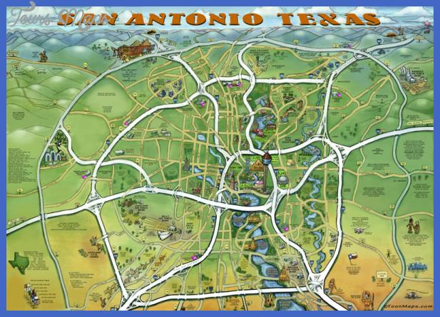 San Antonio Zoo Map 2017