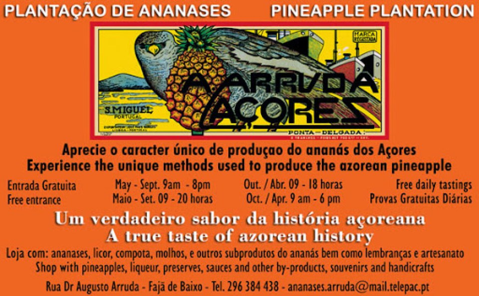 The Sweet Secret to Pineapples in the Azores Label