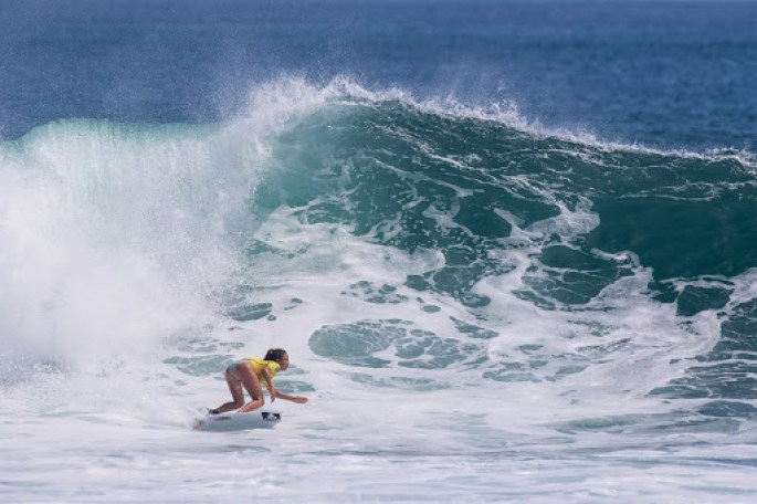 Surfing in the Azores Islands