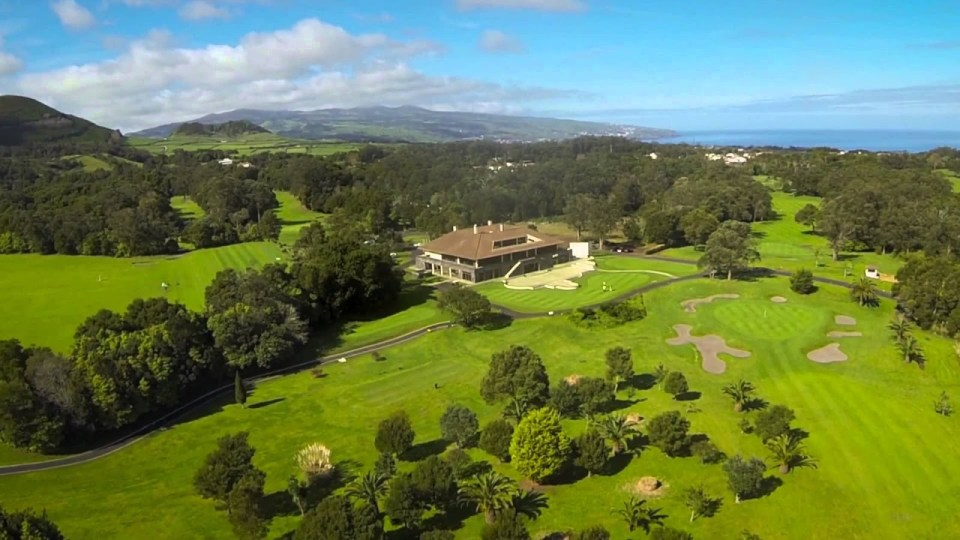Golf Club House in Sao Miguel in the Azores
