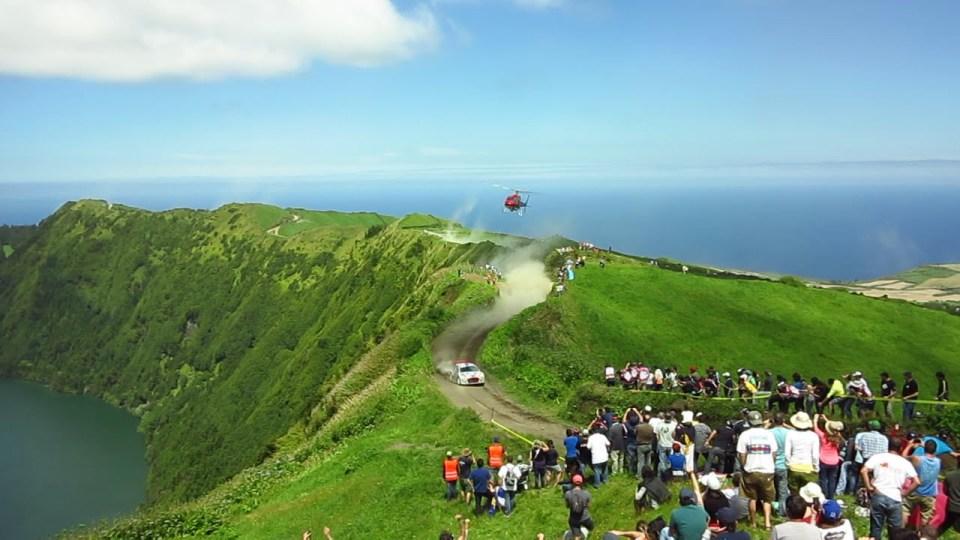 Azores Car Rally Sao Miguel Island race