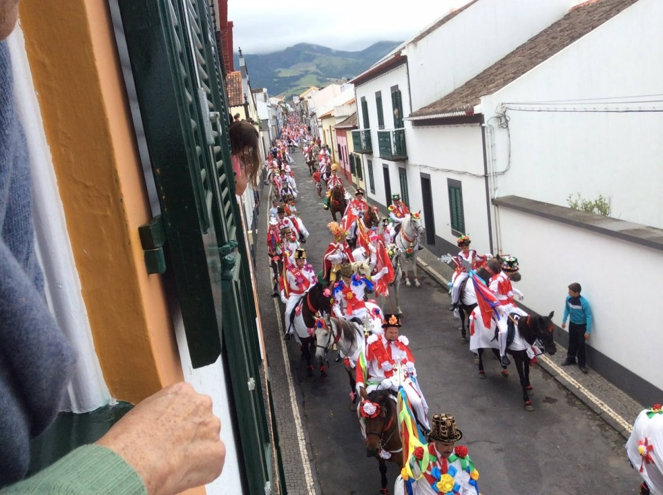 horse polo show sao miguel island azores ribeira grande colorful festival