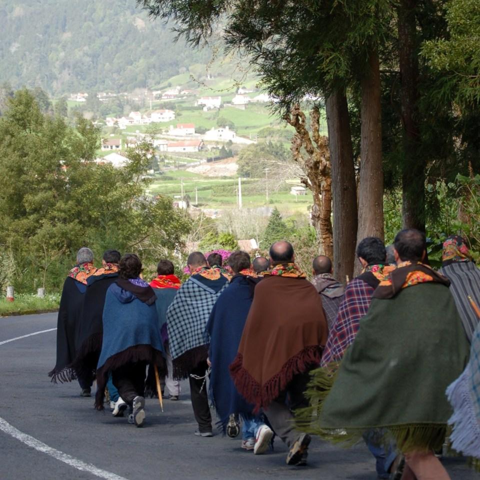 Romarios de São Miguel, Açores, Portugal in the Azores religious festival