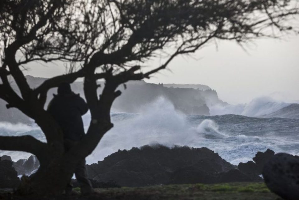 azores surf rough weather winter sao miguel