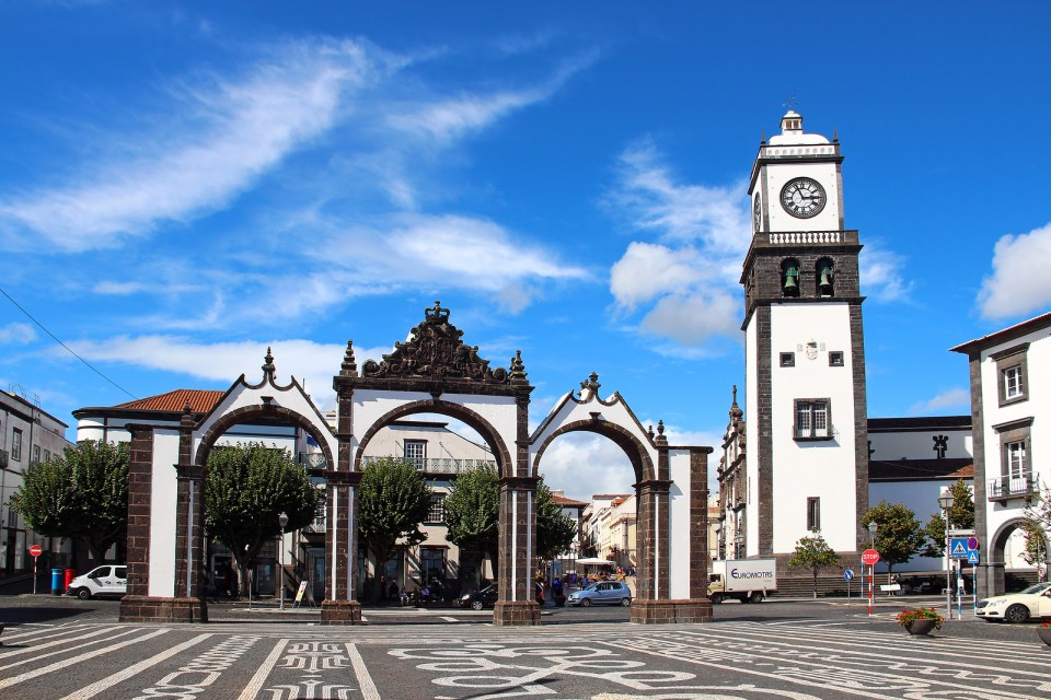 Portas Da Cidade (Gates To The City), Ponta Delgada, Sao Miguel