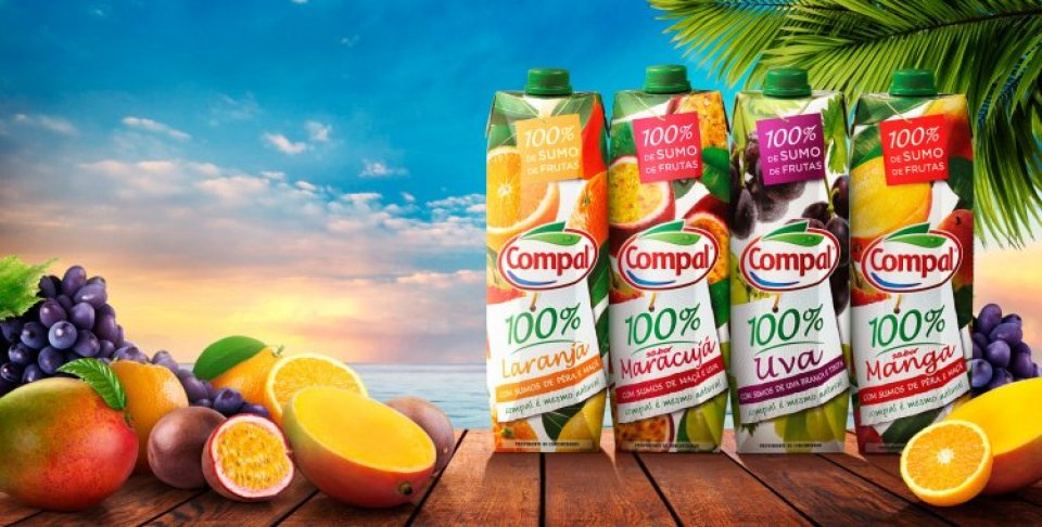 compal exotic azores and madeira fruit juices with fresh passion fruit