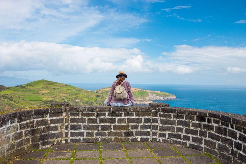 azores viewpoint ponta delgada tour overlooking ocean