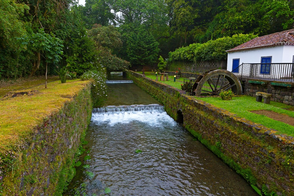 furnas azores water mill sao miguel