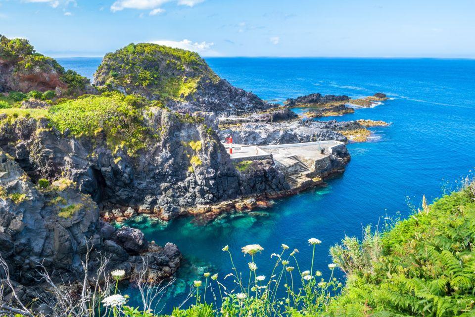 Azores Islands Ocean Pool Corvo
