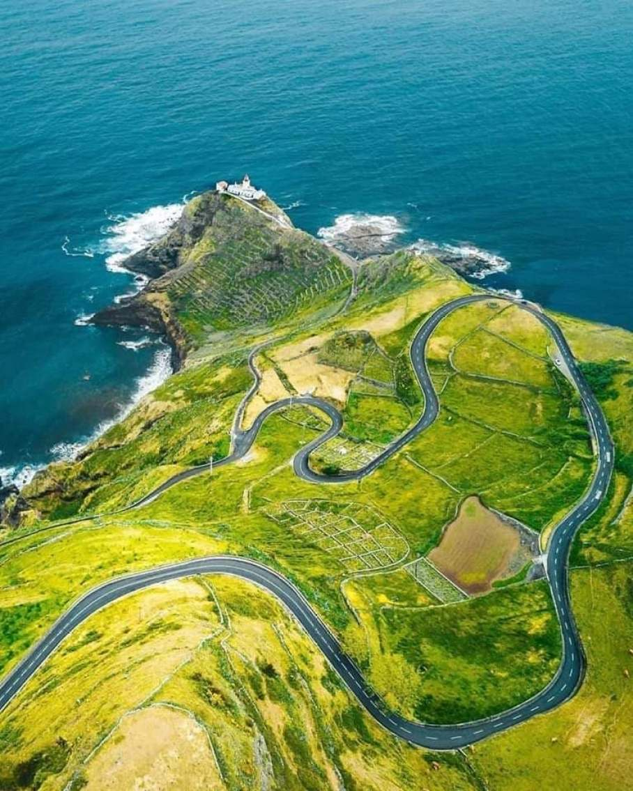 santa maria island road nature