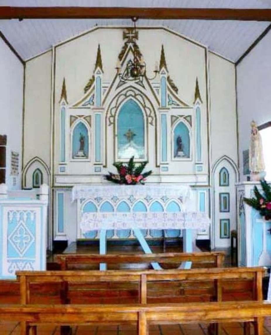 santa maria columbus church azores