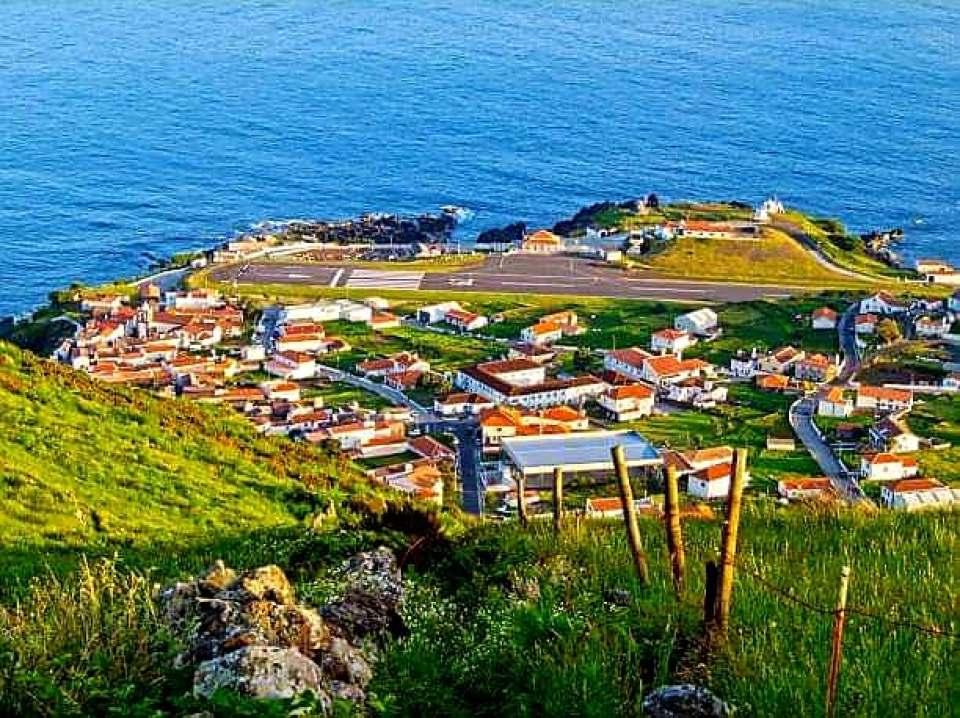 Vila do Corvo in the Azores