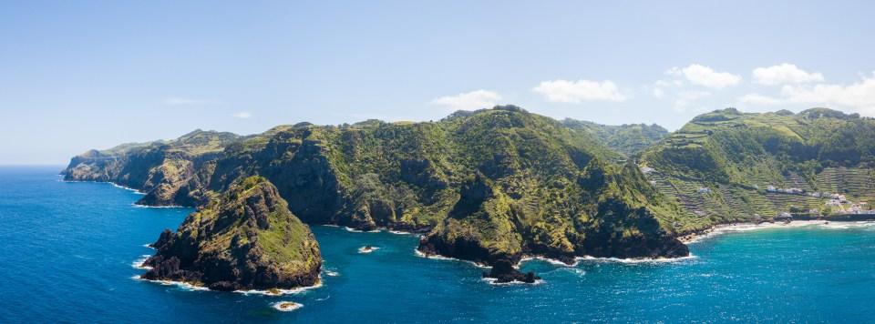 Azores Santa Maria Island Beach Flora