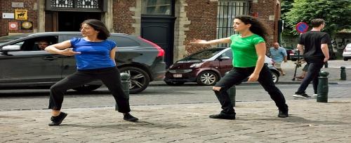 Running and Dancing = Rancing
