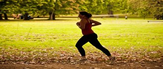 Running in the parks of London