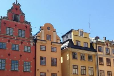 Visit Stortorget on your Gamla Stan walking tour