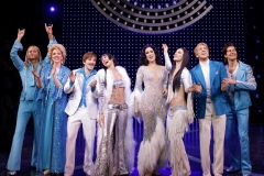 The Cher Show, Original Broadway Cast. Photo by Joan Marcus, 2018.