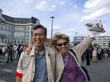 2007 - Mr Ozaki from Japan WW2 tour