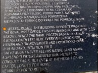 info on one of the Chopin's benches