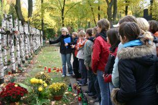 2006 - WW2 resistance tour for Polish school group