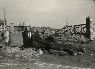 March 18, 1945 - the ruins of the Warsaw Castle