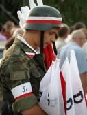 Warsaw Uprising anniversarry celebration