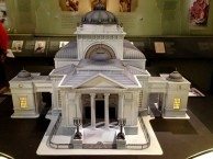 the model of the Great Synagogue